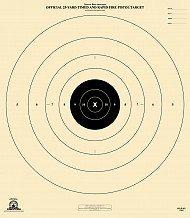 picture regarding Nra B-8 Target Printable identify B8 Pistol Ambitions - 25 Back garden