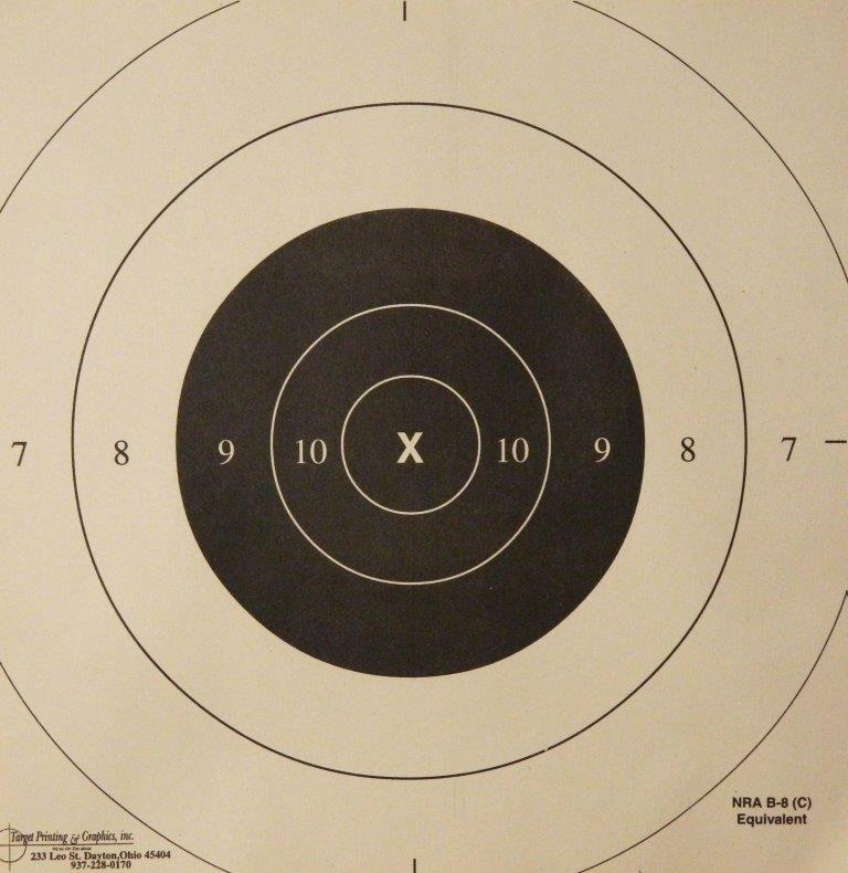 Comprehensive image pertaining to nra b-8 target printable