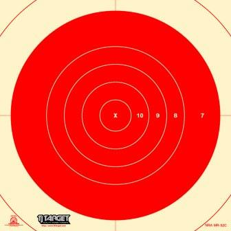 Mr 52c Rifle Target Centers For Mr52 Heavy Paper