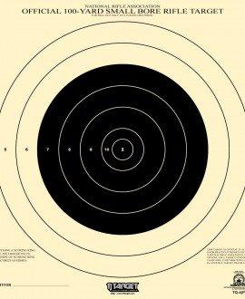 100 yard small bore rifle target pdf