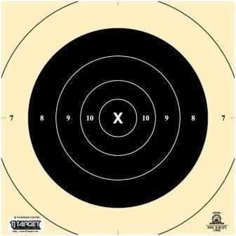 B6 Cp Pistol Targets 50 Yard Slow Fire Tj Target